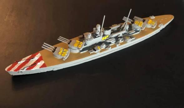 PTD OTO Italian Battlecruiser 1929
