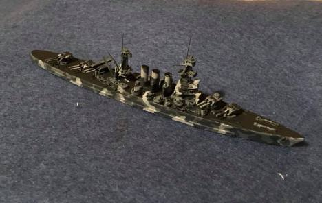 PTD SL66 US 1910 Battle cruiser USS Alliance
