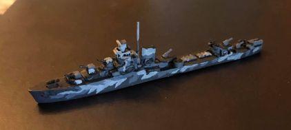 PTD US 1932 Destroyer