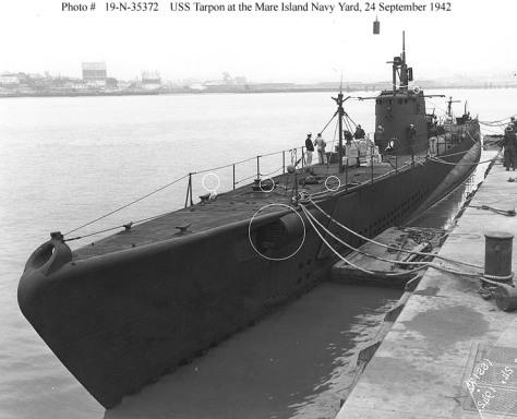 USS Tarpon Sept 1942