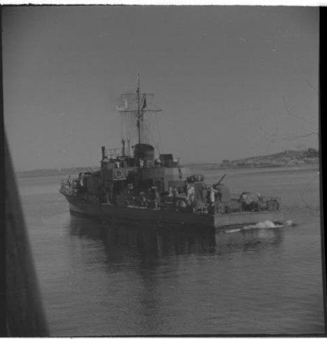 German Minesweeper August 1944