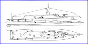 Soviet M400 Submersible MTB