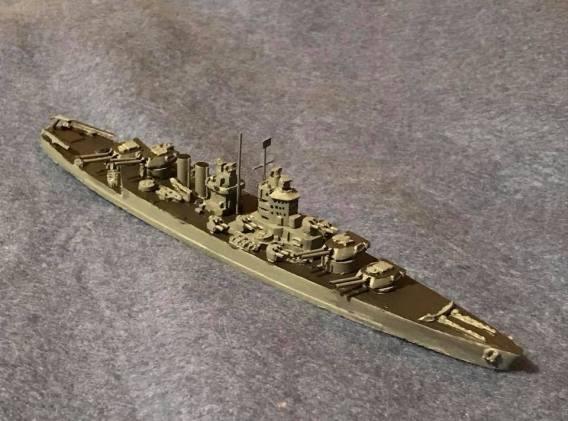 PTD 1935 Battleship Scheme C